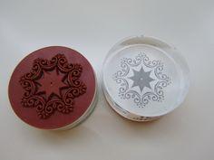 HEYDA Acrylstempel Eiskristall von Frollein KarLa auf DaWanda.com