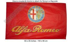 $13.99  ALFA ROMEO banner flag spider GTV 145 3x5 Free Ship
