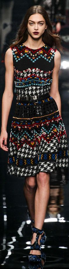 Fall 2015 Ermanno Scervino   The House of Beccaria~