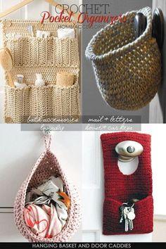 Crochet Bath Caddy