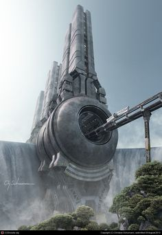 Waterfall Stations by Christian Schumann | 3D | CGSociety