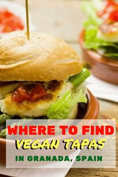 Tapas are a cornerstone of Spanish culture. Who said you can't enjoy these small dishes as a vegan? Here is where to find vegan tapas in Granada Spain. A list of the best restaurants and tips on how to order in Spanish. Travel tips for food in Europe.