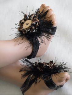 Baby Barefoot Sandal by Lilibugs on Etsy, $12.00