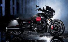 Download wallpapers Moto Guzzi MGX-21, Flying Fortress, 2017, luxury motorcycle, traveler, Moto Guzzi