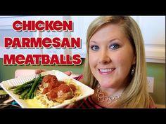 ▶ CHICKEN PARMESAN MEATBALLS | Cooking with Katiepie - YouTube