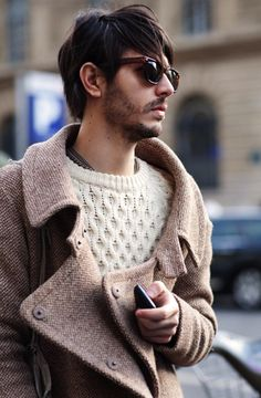 Guy in jacket and sweater