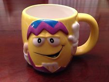 M&M M&Ms M&M's Yellow Peanut Easter Egg Coffee Mug Cup Galerie 2003