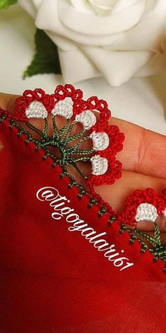 Hairstyle Trends, Indian Dresses, Embroidery Designs, Diy And Crafts, Asdf, Rose, Check, Crochet Appliques, Dish Towels
