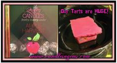 Our 100% Natural  Safe Soy Wax Tart Melts are HUGE  Hidden Jewelry Inside is Just a Bonus! www.candlesngems.com #Apple #Jewelry #Candle