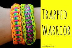 How to Make a Rainbow Loom Trapped Warrior