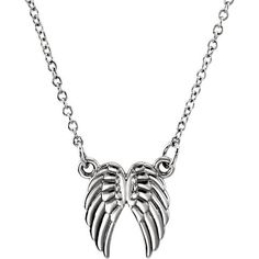 MSRP: $349.99 Our Price: $249.99 Savings: $100.00   Item Number: 85800  Availability: Usually Ships in 5 Business Days   PRODUCT DESCRIPTION:  This necklace for her features beautiful Angel Wings at its center. Crafted in 14k gold, this necklace is available in the metal color of your...