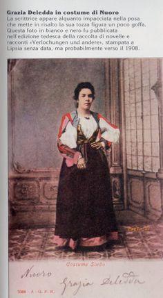 Grazia Deledda, Nuoro 1908