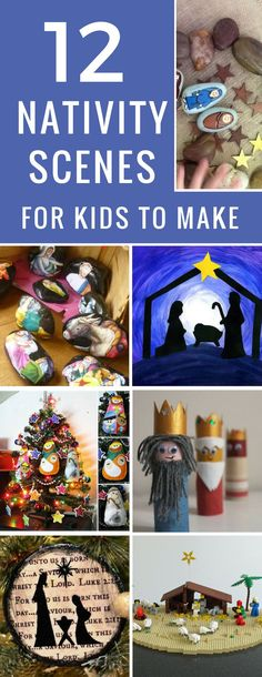 All the kids are going to love making these nativity crafts and they're so lovely we'll be getting them out next Christmas too!