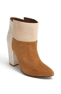 Chinese Laundry Kristin Cavallari 'Allure' Suede Ankle Bootie available at #Nordstrom