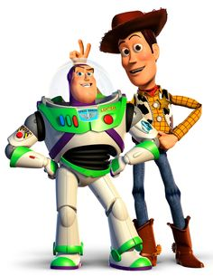Buzz Lightyear & Woody / Toy Story