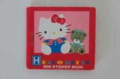Hello Kitty mini sticker book 1988 by lucychan80, via Flickr