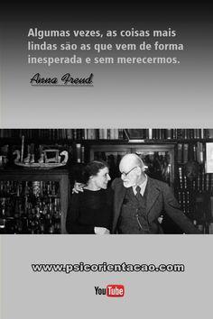 frases de reflexão psicologia, frases engraçadas psicologia, frases celebres psicologia, freud frases psicologia, psicologia frases freud, anna freud, Anna Freud