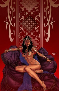 Dejah Thoris 19 by PaulRenaud