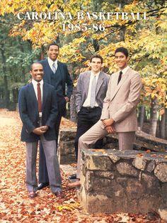 1986 North Carolina Basketball Media Guide Basketball History b14fbec9c