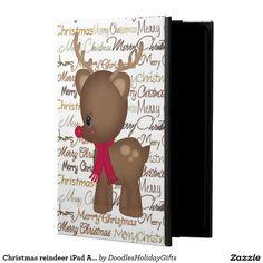 Christmas reindeer iPad Air 2 Powis icase Powis iPad Air 2 Case