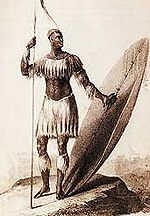 Week #34: King Shaka Zulu - the warrior king of South Africa.
