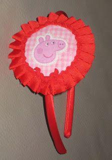 Diadema Pepa Pig redonda