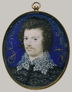 Portrait of a Young Man, Probably Robert Devereux Second Earl of Essex, style features the delicate, fine lines and intricate patterning for which Hilliard became known under the service of Queen Elizabeth. Uk History, Tudor History, British History, History Major, Family History, Los Tudor, Tudor Era, Adele, Renaissance Portraits