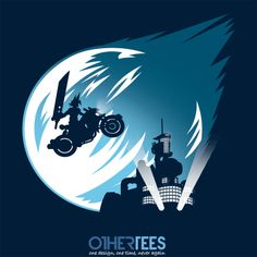 Meteor Over Midgar by trapjaw Shirt on sale until 03 March on http://othertees.com #finalfantasy