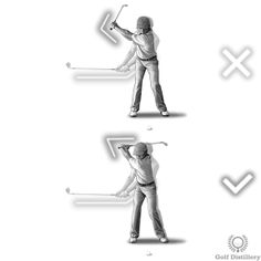 Your wrists should begin to hinge as you cross the halfway point of the backswing Golf Backswing, Golf Lessons, Golf Tips, Positivity, Hacks, Game, Venison, Games, Tips