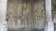 Varaha Cave, Mahabalipuram , Tamil Nadu, India