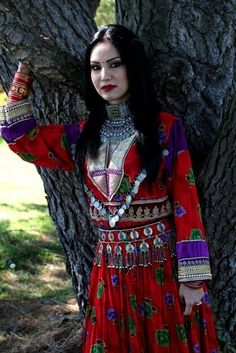 Afghan Youth Voices Afghan Clothes, Afghan Dresses, Afghan Wedding Dress, Afghanistan Culture, Afghan Girl, Look Short, Pakistani Outfits, Indian Ethnic Wear, Traditional Dresses