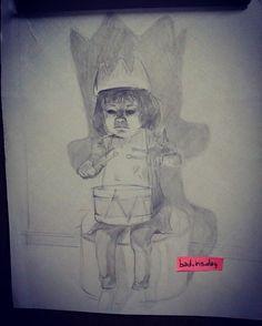 """13 curtidas, 1 comentários - Iris Ozuna (@bad.iris.day) no Instagram: """"#desenho #draw #dark #menina #girl #sketch #project #invocation #pencilartist"""""""