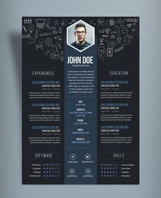 Having a clean, clear and precise CV can set up out when applying for job or project. This 2020 is not years of hits and miss.You have to be ready and get all your tools ready to get that dream job or project. Get your curriculum vitae professional resume Portfolio Web, Portfolio Design, Portfolio Layout, Crea Design, Creative Design, Design Design, Graphic Design, Resume Design Template, Creative Resume Templates