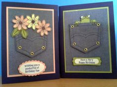 Boy or Girl Pocket Fun by Sarah B - Cards and Paper Crafts at Splitcoaststampers