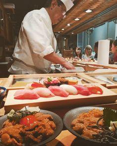 満腹になる夢が叶う!「うに」を食べたいときに行くべき東京のお店20選  - macaroni Sashimi Sushi, Japanese Food, Food Dishes, Delicious Food, Delish, Tokyo, Menu, Gardening, Nice