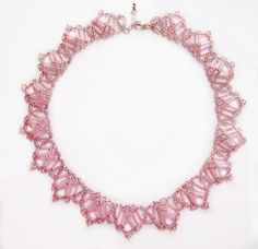 Free pattern for beaded necklace Sweet Dream | Beads Magic
