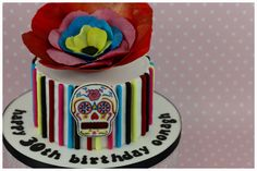 Frida Kahlo Day of the Dead cake