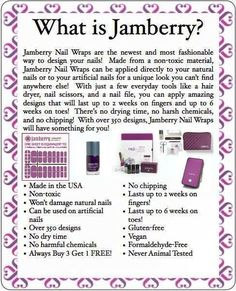 Why choose Jamberry? Here's a few reasons! Consultant: https://tallyo.jamberry.com