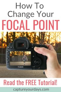 If you're a beginner learning how to shoot in manual mode, read this tutorial. In this photography lesson to learn 3 reasons why toggling your focal point is powerful in helping you take better pictures and learn how to change you Dslr Photography Tips, Photography Tips For Beginners, Photography Lessons, Photography Tutorials, Digital Photography, Iphone Photography, White Photography, Camera Hacks, Photo Tips