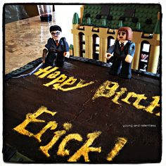 LEGO Harry Potter Cake I want a harry potter themed 11th b day party