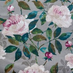 Check out this item at One Kings Lane! Decor, Linen, Multi, Wallpaper, Fabric, Linen Blend, Hertex Fabrics, Inspiration, Love Home