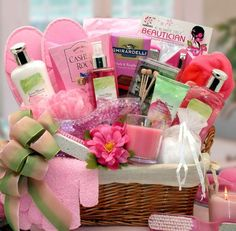 An Afternoon At the Spa - Perfect Spa Gift Basket for Women