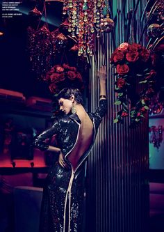 one night in bangkok: saskia de brauw by nathaniel goldberg for v #79 fall 2012   visual optimism; fashion editorials, shows, campaigns & more!