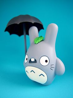 I would love this resin Totoro in my collection.  By Dolly Oblong