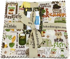 Camp-A-Lot Charm Pack from Missouri Star Quilt Co for scout donation lap quilt?