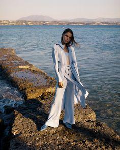 StefaniaVaidani Spring/Summer 18- Karpathos Collection Karpathos, Business Fashion, 18th, Spring Summer, Coat, Collection, Design, Style, Swag