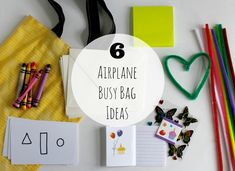 Traveling with kids this year? You're going to want to fill a busy bag full of crafts and activities to entertain your little ones as you travel!