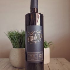 Rich and deeply satisfying on its own, pair Tall Dark Stranger Malbec with your favorite grilled meat to discover its full potential. Grilled Meat, Red Wine, Berries, Dark, Bottle, Flask, Bury, Jars, Blackberry