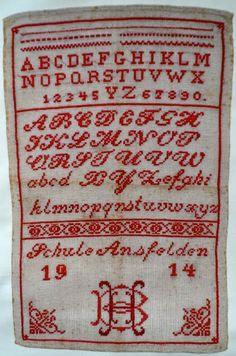 Quilts and Siggies: borduren