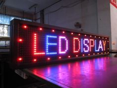 Affordable LED signs for your small business. Financing Available, Call Now Outdoor LED Signs are weatherproofed Programmable Message Displays. Led Display Board, Led Display Screen, Sign Display, Arduino, Outdoor Led Signs, Led Video Wall, Best Investments, Save Energy, Get One